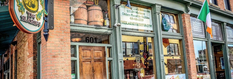 the blarney irish pub downtown toledo casual dining