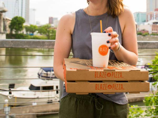 Blaze Pizza take out