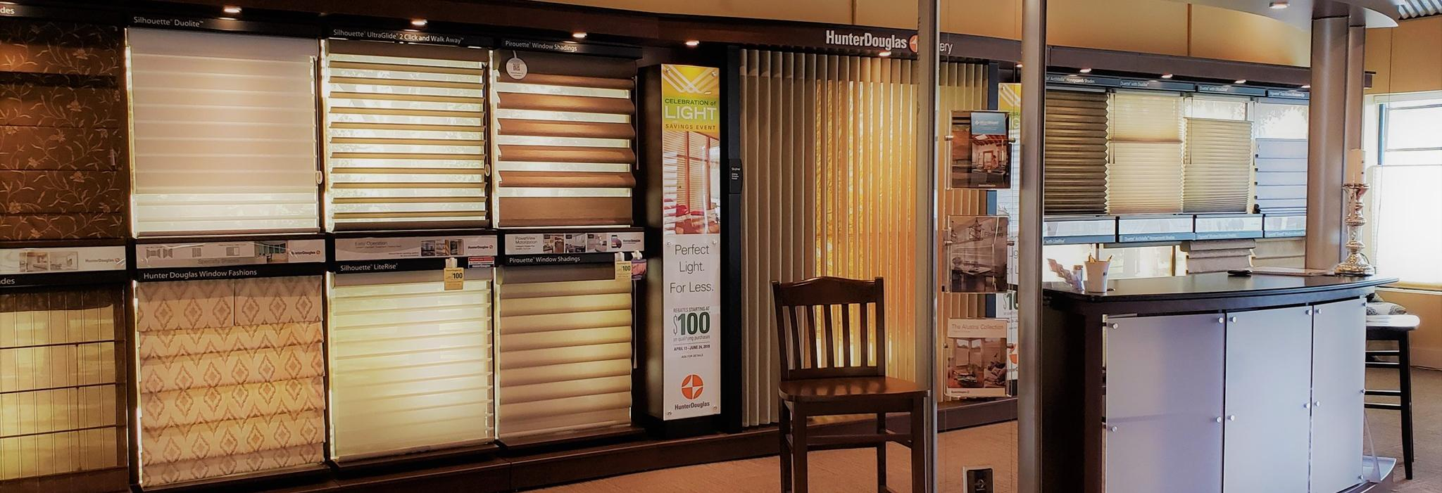 Blinds & Designs in Wyomissing, PA banner