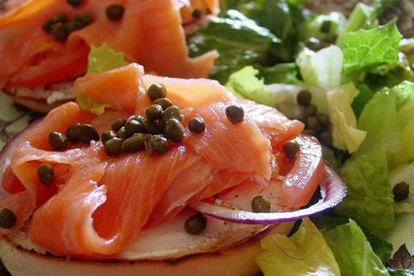 Block's Bagels, Bakery and Deli Lox.