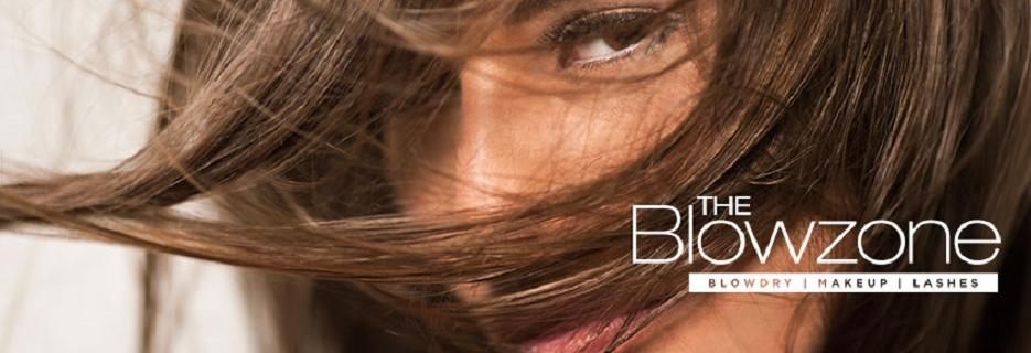 The Blowzone Blowdry Bar banner Boca Raton, Jupiter & Palm Beach Gardens, FL