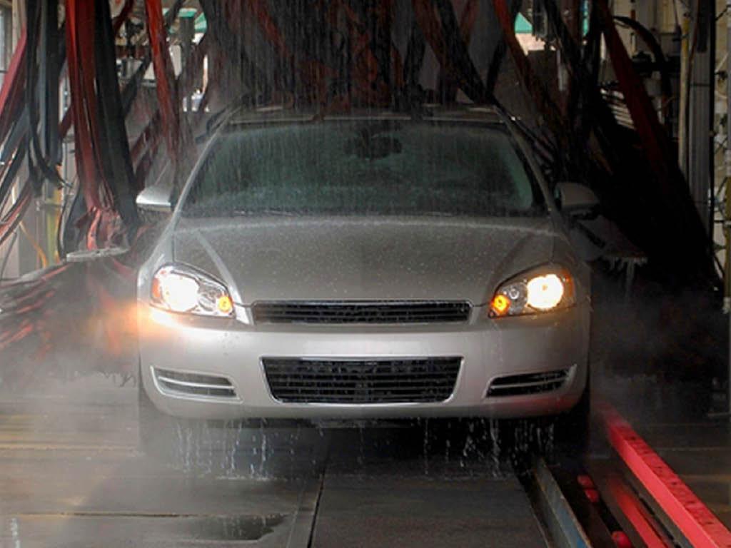 Blue Hippo Express Car Wash tunnel