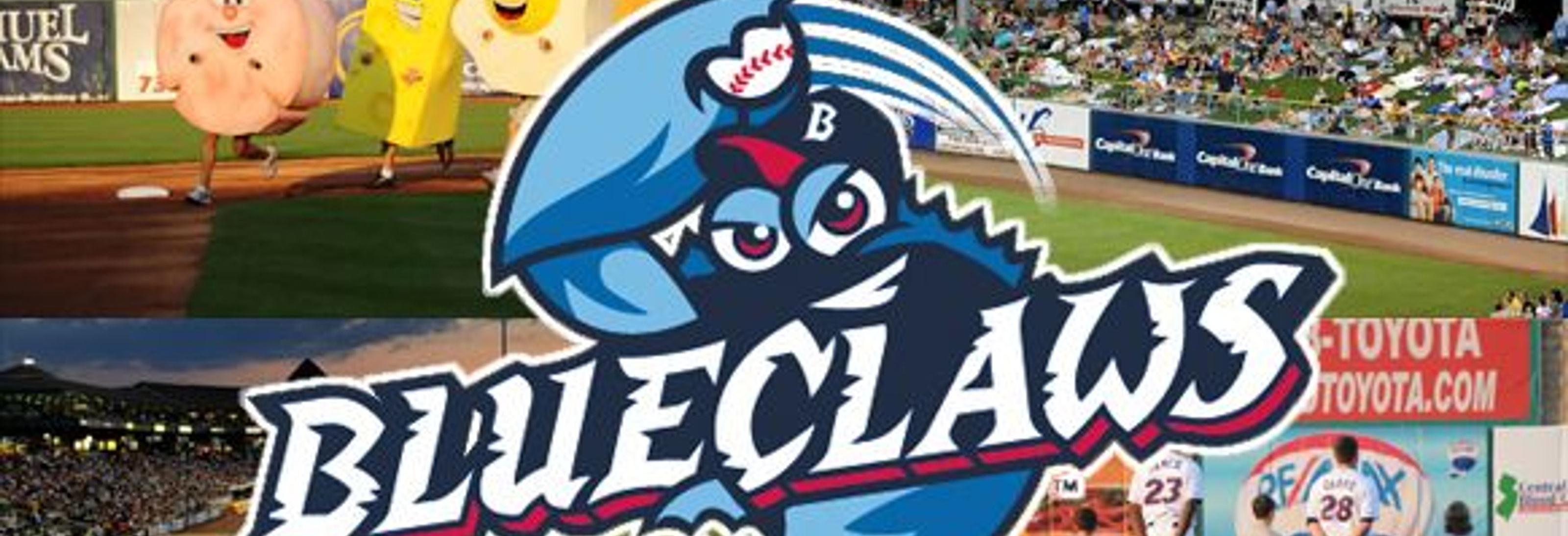 Blue Claws Banner