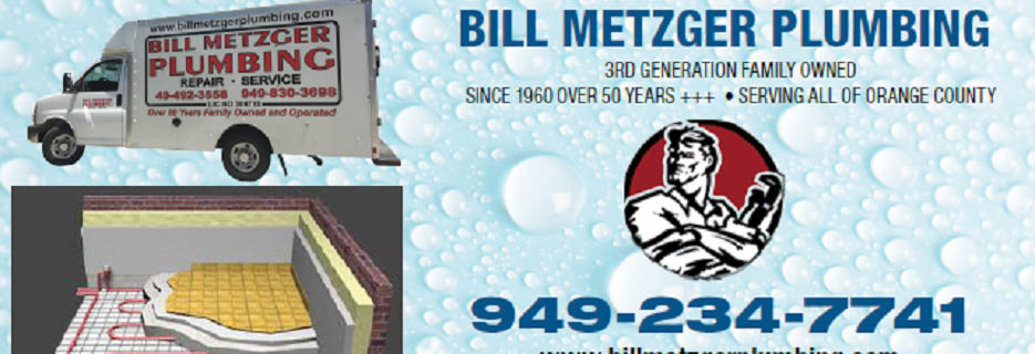 bill metzger plumbing orange county, ca plumbing repair coupon near me