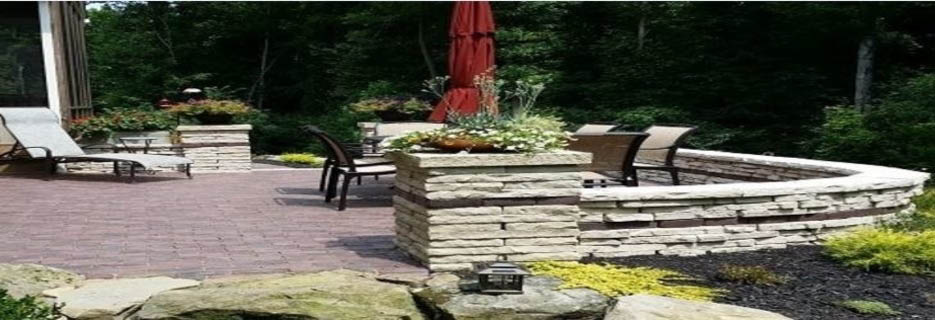 Hardscapes Retaining Walls - Fire Pits
