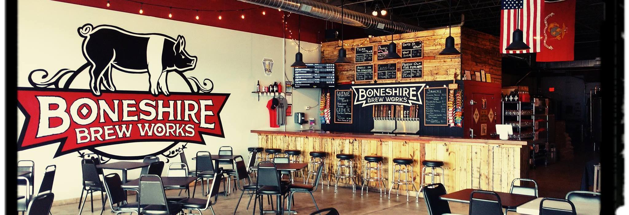 Boneshire Brew Works in Harrisburg, PA banner