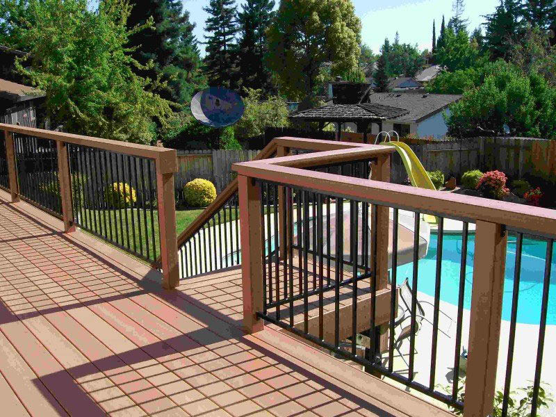 fencing and decking around pool , by Lifescaping Outdoors; pool fences