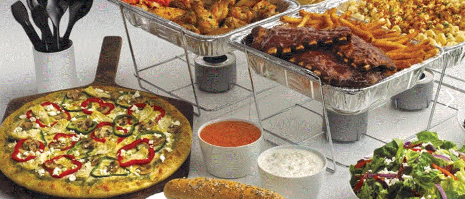 Picture of catering at Boston's PIzza in Haslett, MI