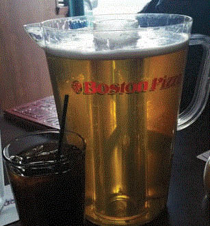 Picture of Pitcher of Beer at Boston's Pizza in Haslett, MI