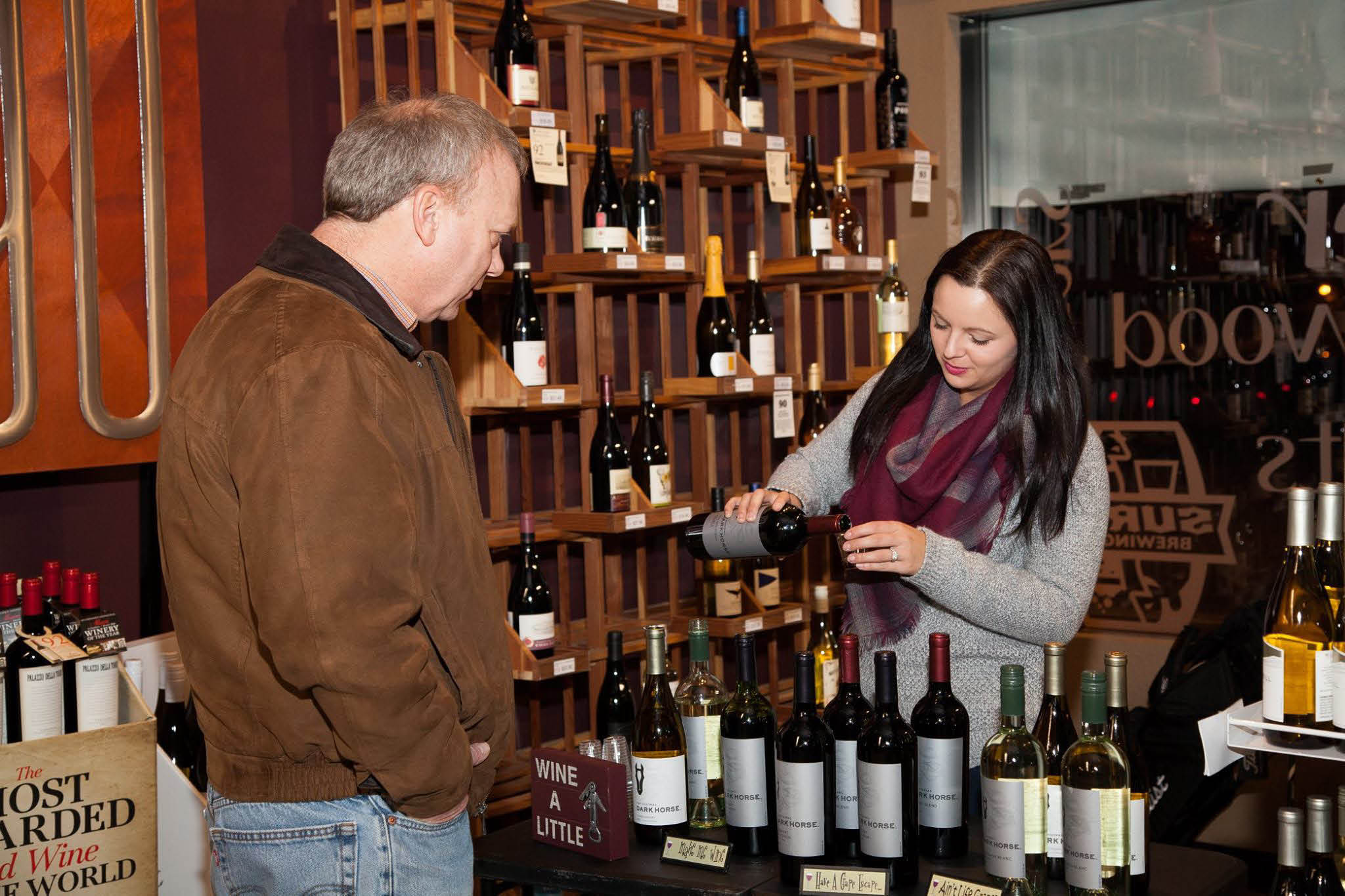 The Bottle Shop of Grafton wine tasting in Ozaukee County