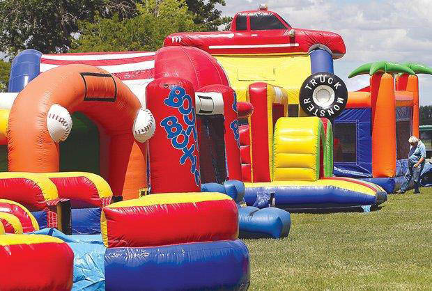 bouncing bins coupons, bounce house coupons, party entertainment coupons.
