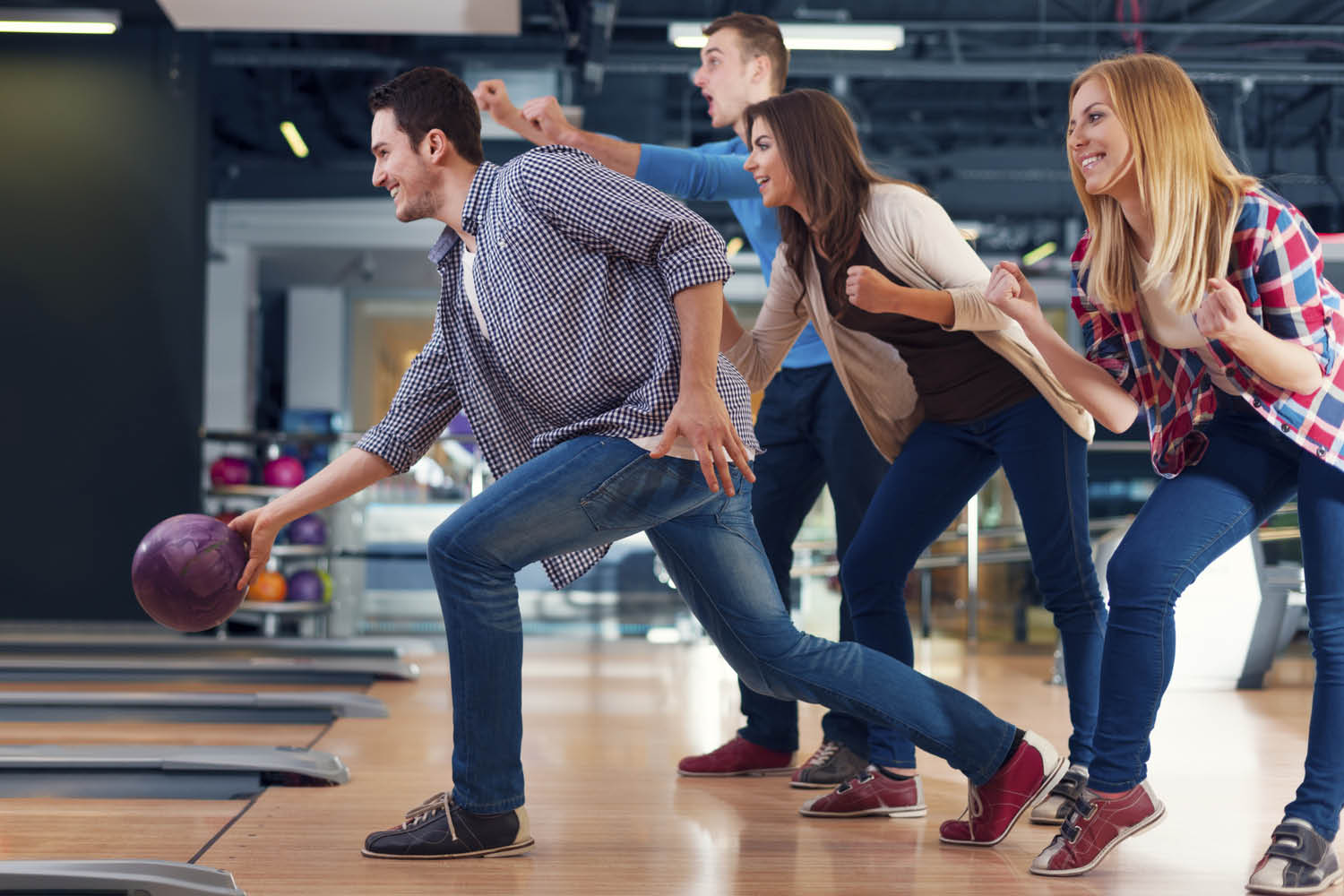 Looking for family fun? Head to the bowling alley in New Milford.