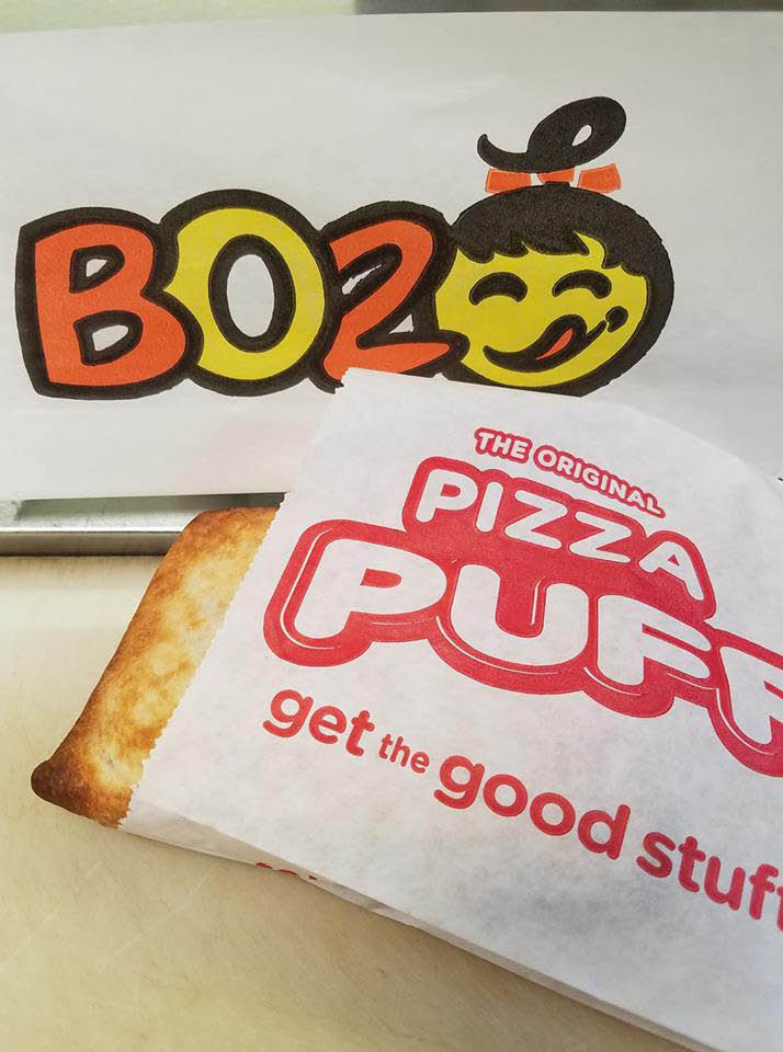 Boz hot dog save money with Boz coupons for Chicago hot dogs and original pizza puffs.