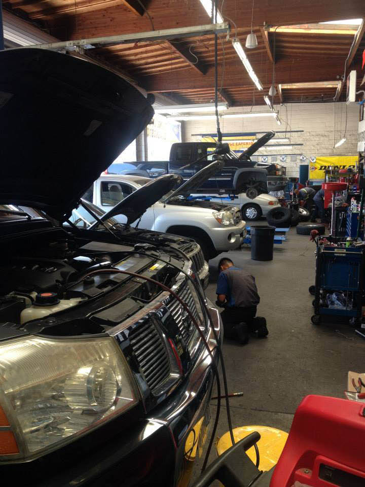 Oil change services by certified mechanics at Trusted Tires