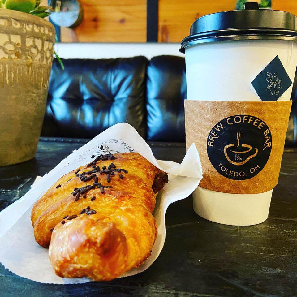 coffee pastries latte