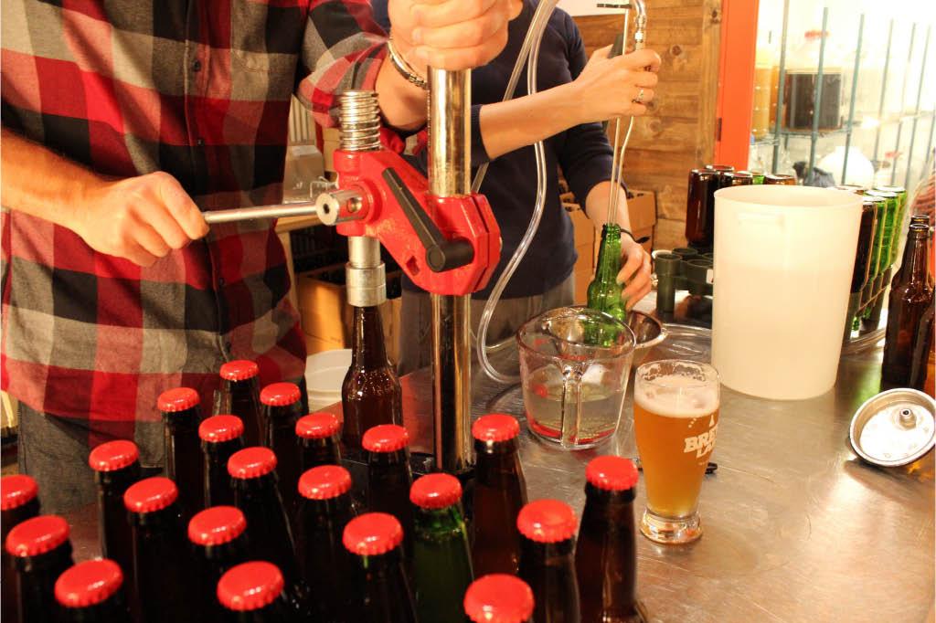Public Brew and bottle classes