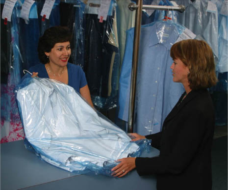 Dry cleaned and pressed clothes from Brothers Cleaners in Laguna Niguel