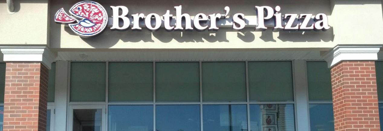 Brother's Pizza Banner