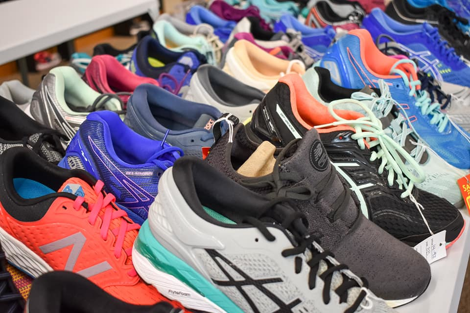 athletic shoes; sneakers; running shoes