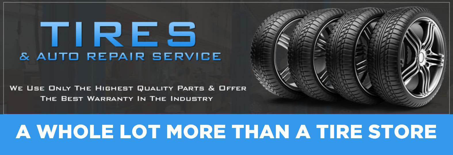 Brentwood Tire Company & Auto Repair Service banner
