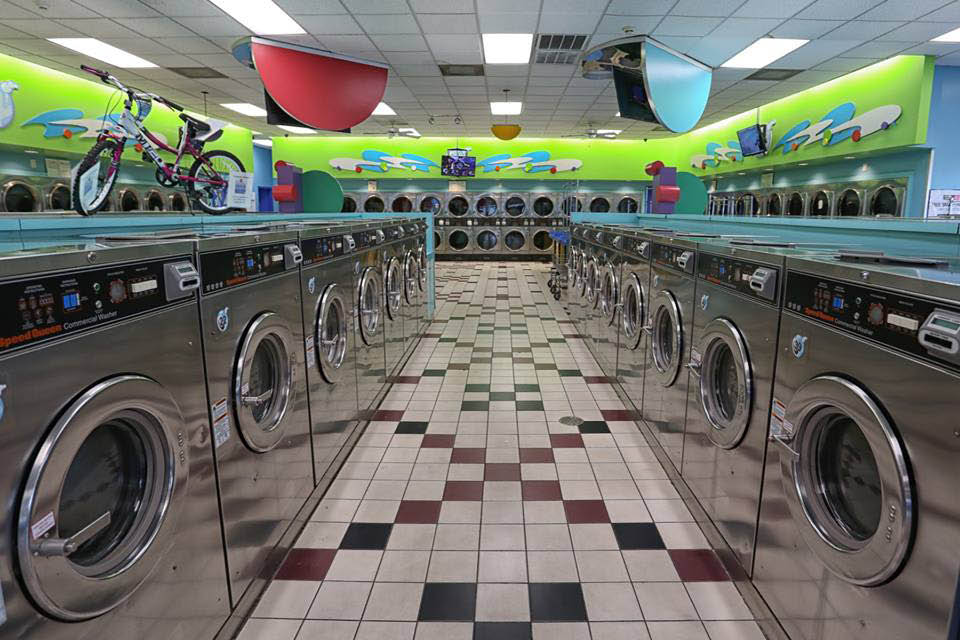 Over 150 laundry machines
