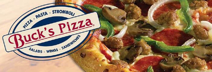 Buck's Pizza in DuBois, PA banner