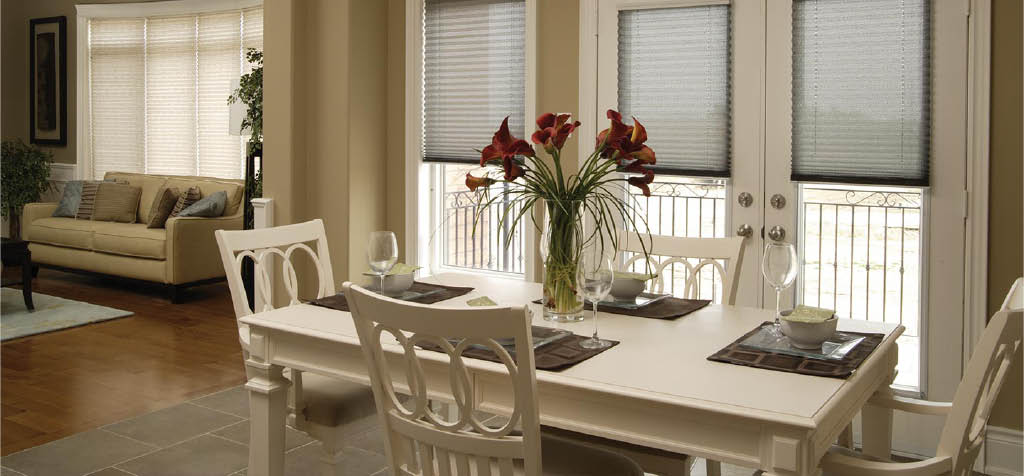 Budget Blinds Fabric shades for Windows in Racine and Kenosha