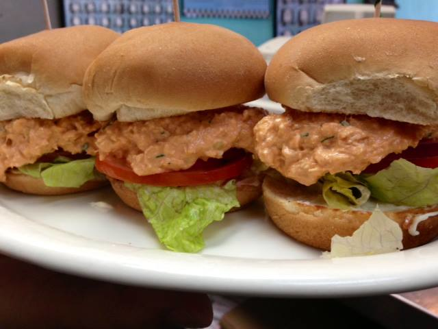 Try our Freshly Prepared Buffalo Chicken Salad Sliders