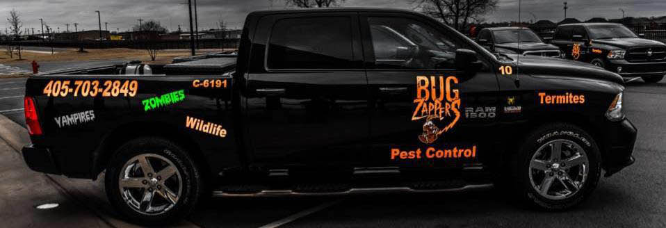 Bug Zappers of Oklahoma Banner ad