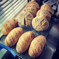 all homemade and fresh. the best house-made breads and rolls in Pismo Beach and probably on the Central Coast.