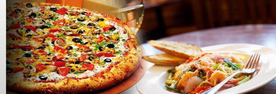 Buontempo Bros pizza and salad