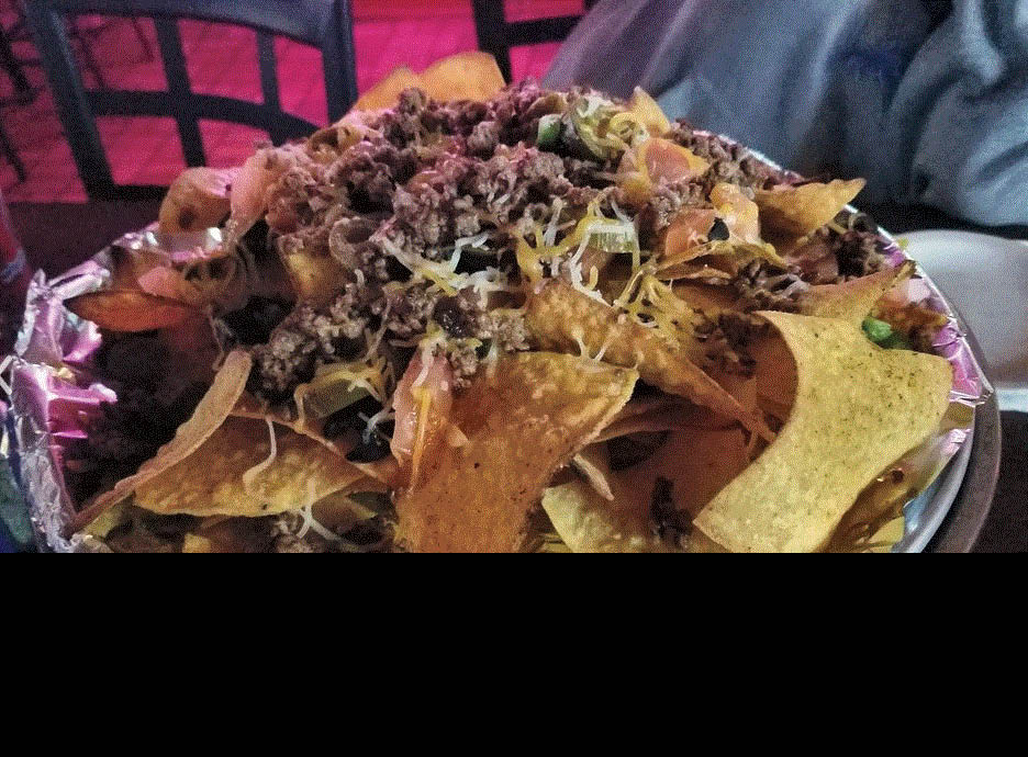 Picture of a large plate of nachos at Buoy 12 Pub and Eatery in St. Clair Shores, MI