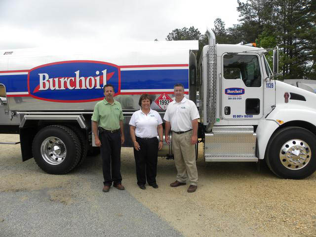 Burchoil truck southern maryland