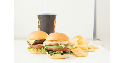 Lunch deals at Burger IM; coupons for lunch; fast food