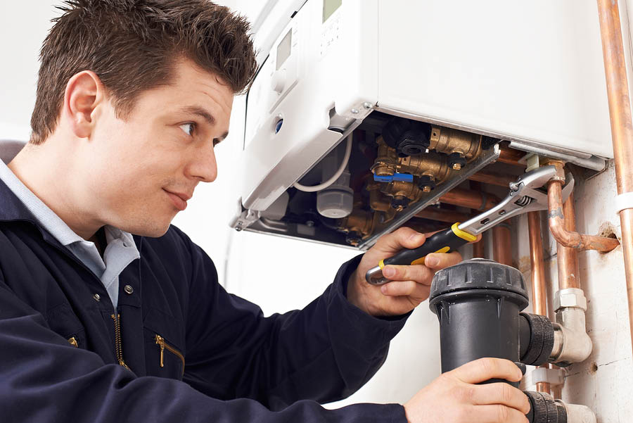 Burlington HVAC hot water boiler repair service southeast WI