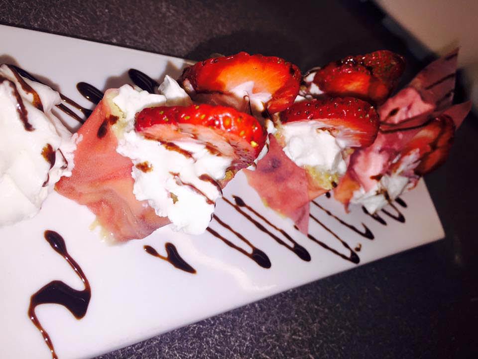 Dessert at Japanese restaurant near North Charleston, SC