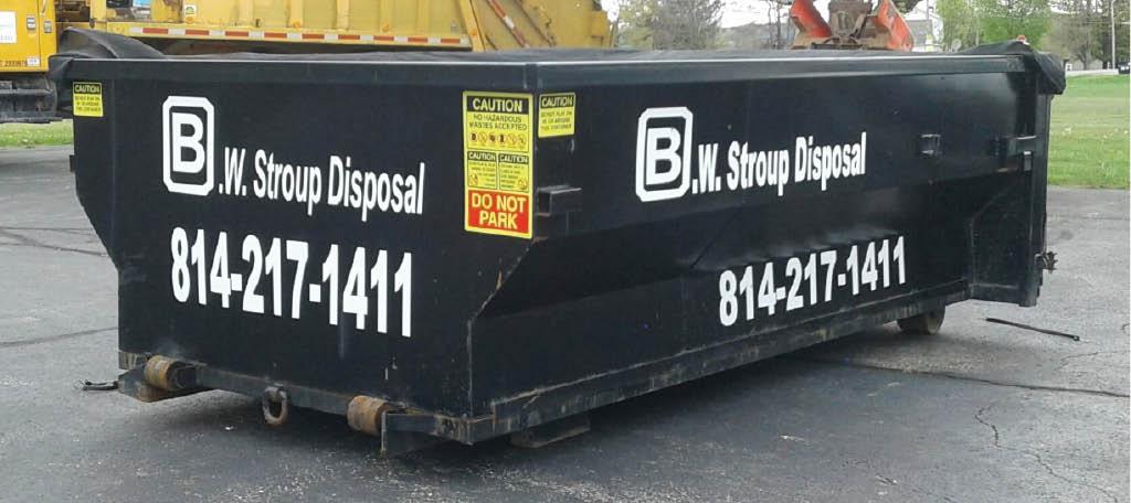 B.W. Stroup Disposal dumpster rental