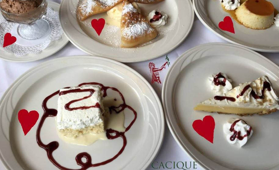 Cacique Fine Spanish & Mexican Cuisine in frederick, md desserts