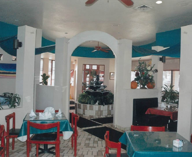 dining area at Cafe Acapulco in Arlington, TX