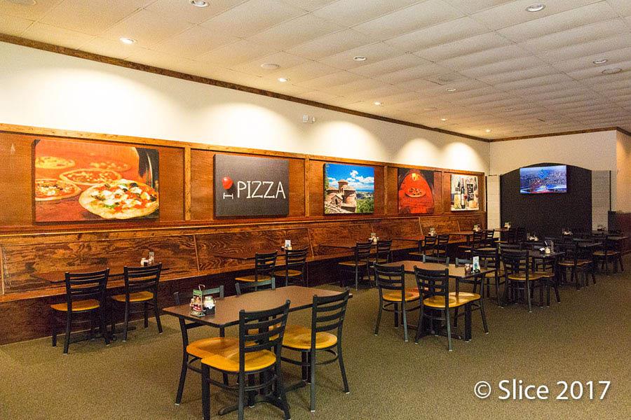 Calabria restaurant interior in Mount Juliet, Tennessee