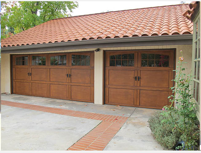 Recessed Panel Carriage House Overlay Laguna Hills Costa Mesa 91763 92679  92630 Victorville,ca Garage