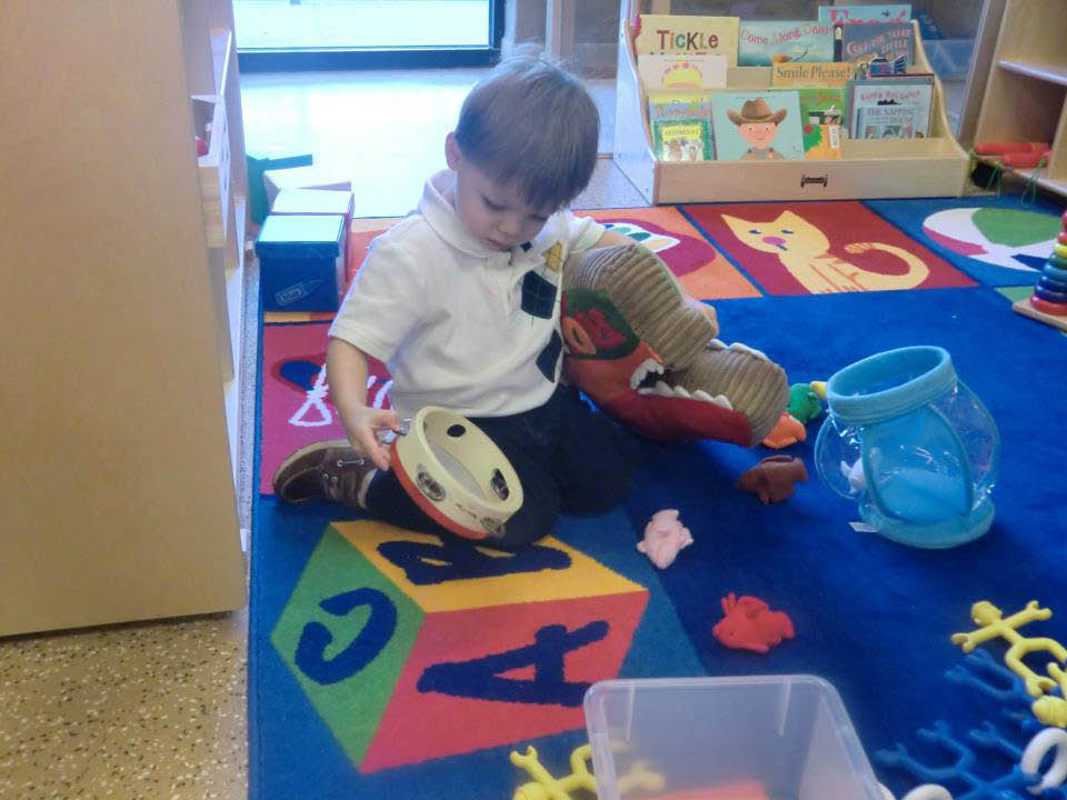 the campus kids first early learning center play time
