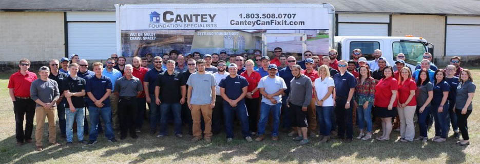 Cantey Foundation Specialists in Camden, SC Banner ad