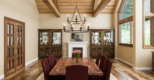 Many styles of dining room chandeliers to match your home decor