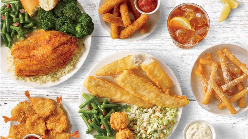 variety of dinners; french fries; fried fish; fish and chips; seafood restaurants in Memphis