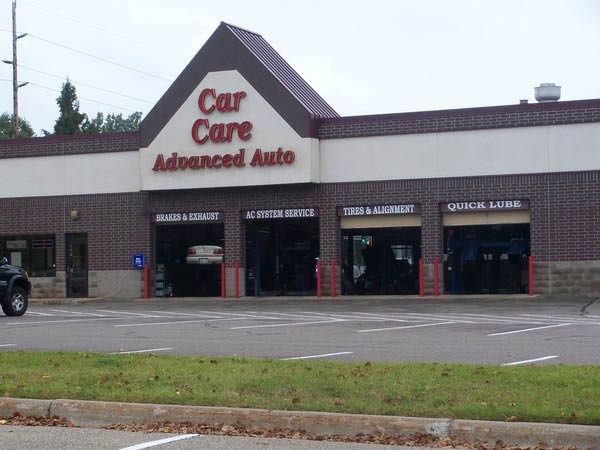 Car Care Advanced Auto Repair building