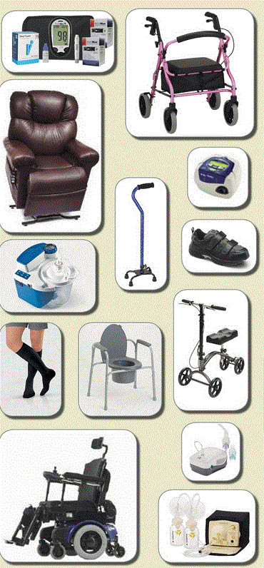 Multitude of products & services available at CareLinc Medical Equipment & Supply in Haslett, MI