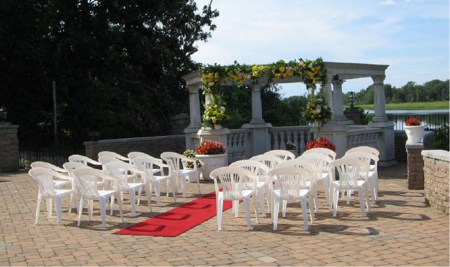 Enjoy your next event at Carlucci's outdoors where we can set up for  any occasion