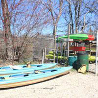 Canoe and standing paddle board rental near Coram, New York