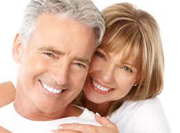 Dental picture of couple
